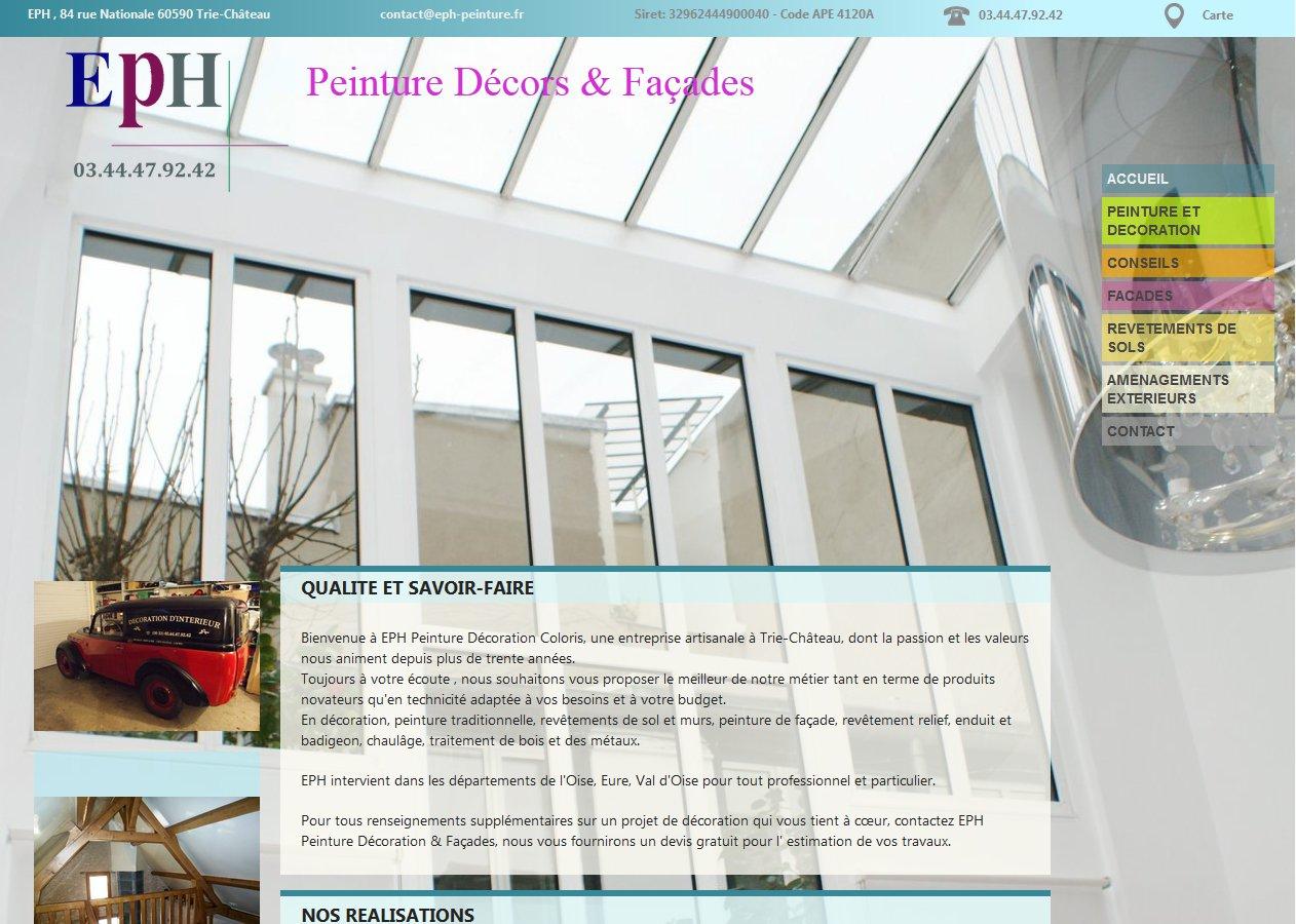 PEINTURE : EPH Entreprise de peinture Gisors